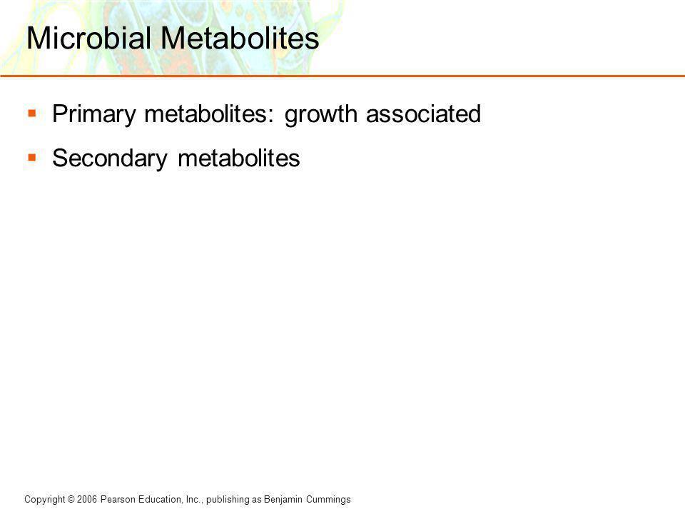 Microbial Metabolites