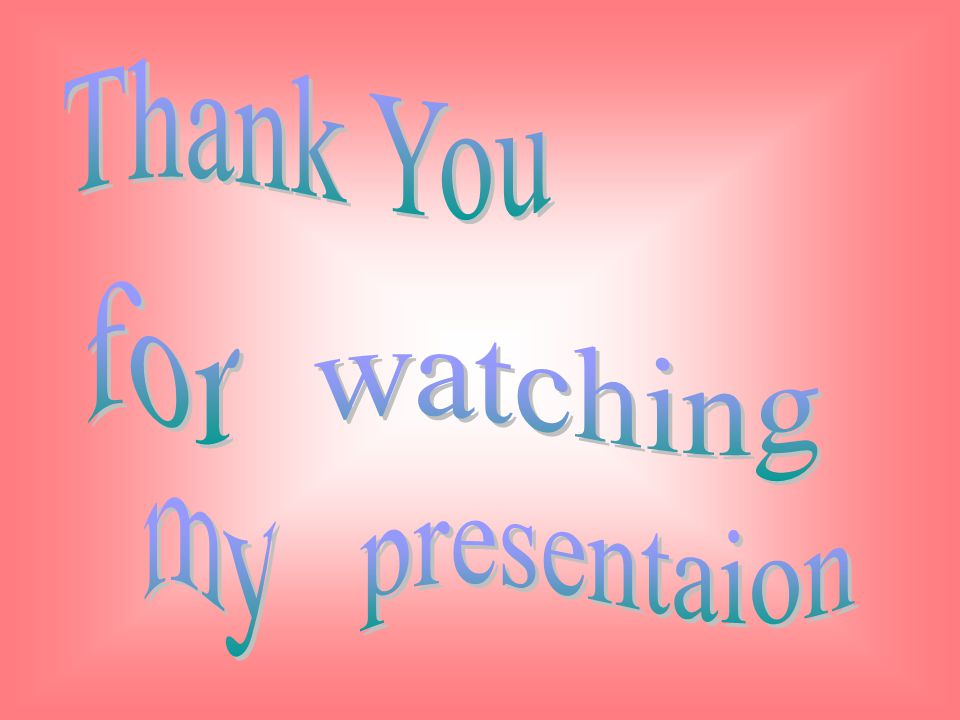 Thank You for watching presentaion my