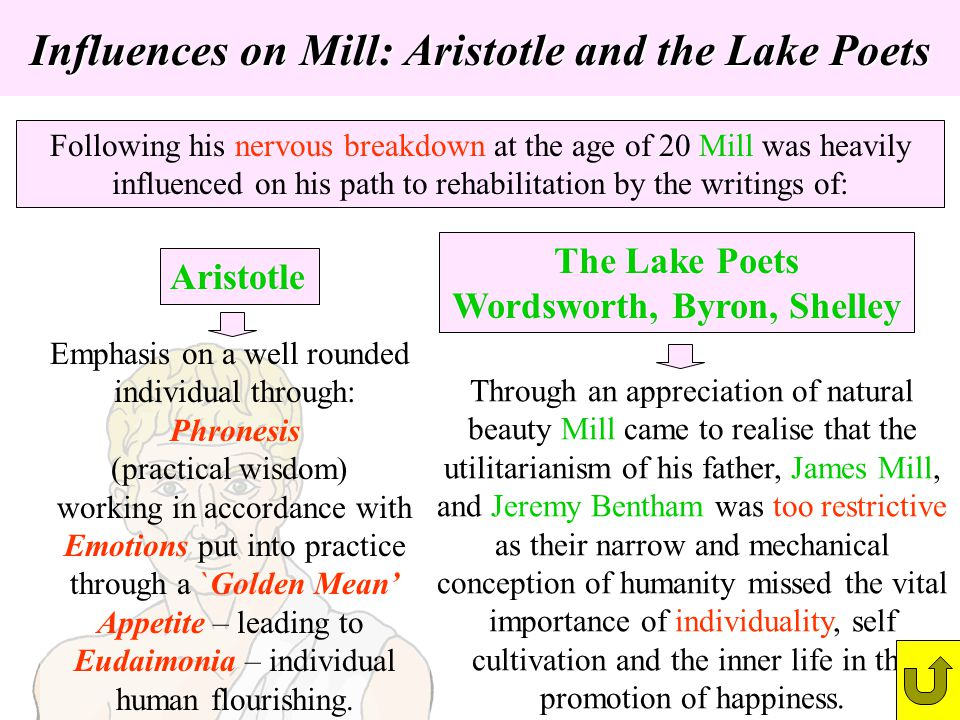 Influences on Mill: Aristotle and the Lake Poets