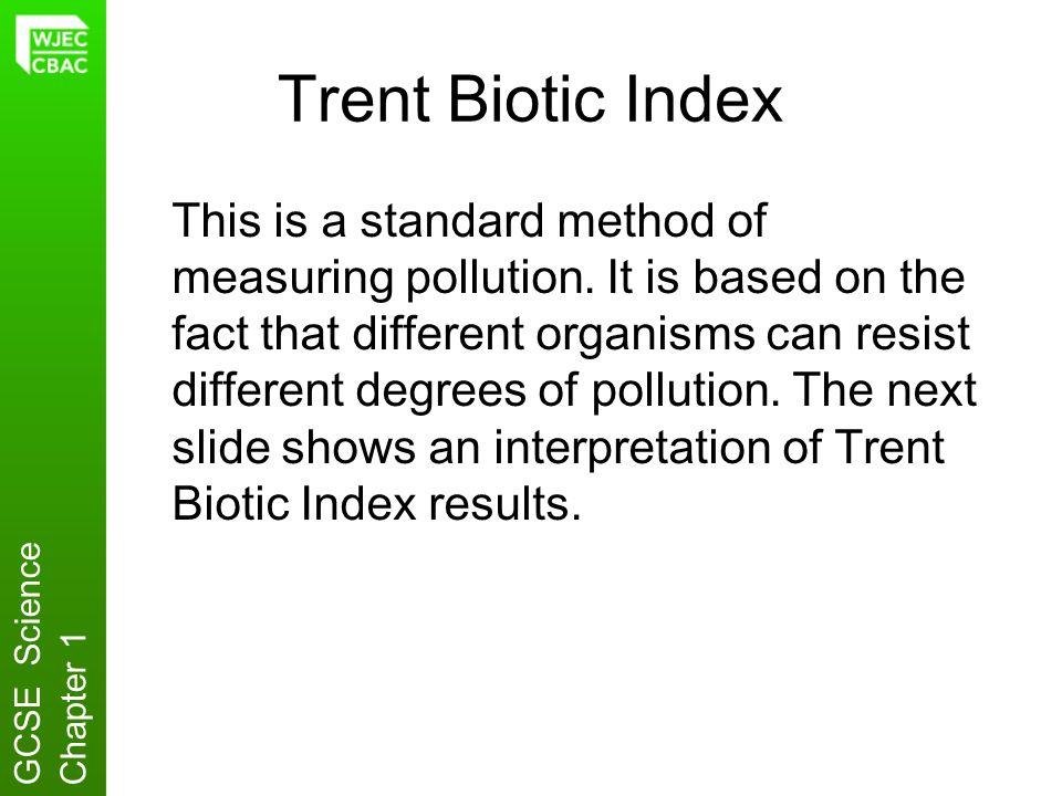 Trent Biotic Index
