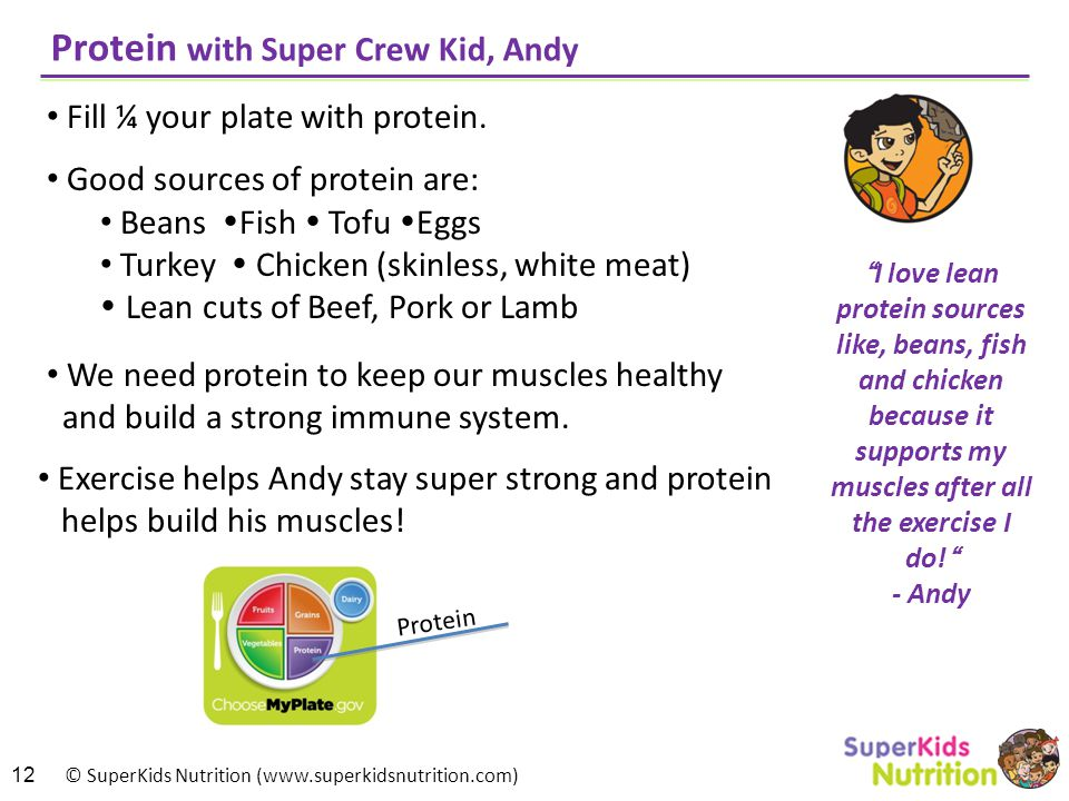 Protein with Super Crew Kid, Andy