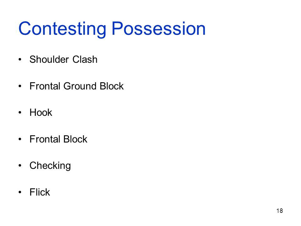 Contesting Possession