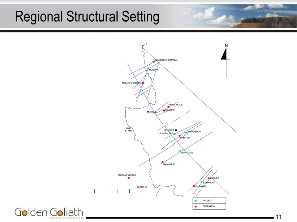 Regional Structural Setting