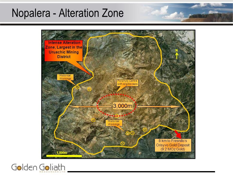 Nopalera - Alteration Zone