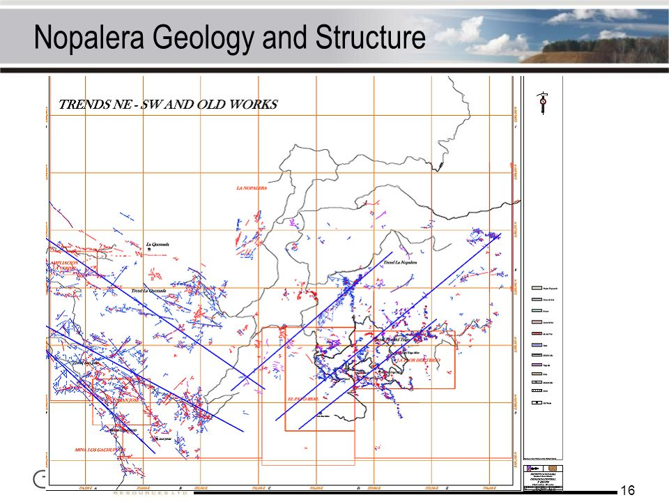 Nopalera Geology and Structure