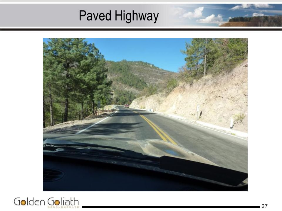 Paved Highway