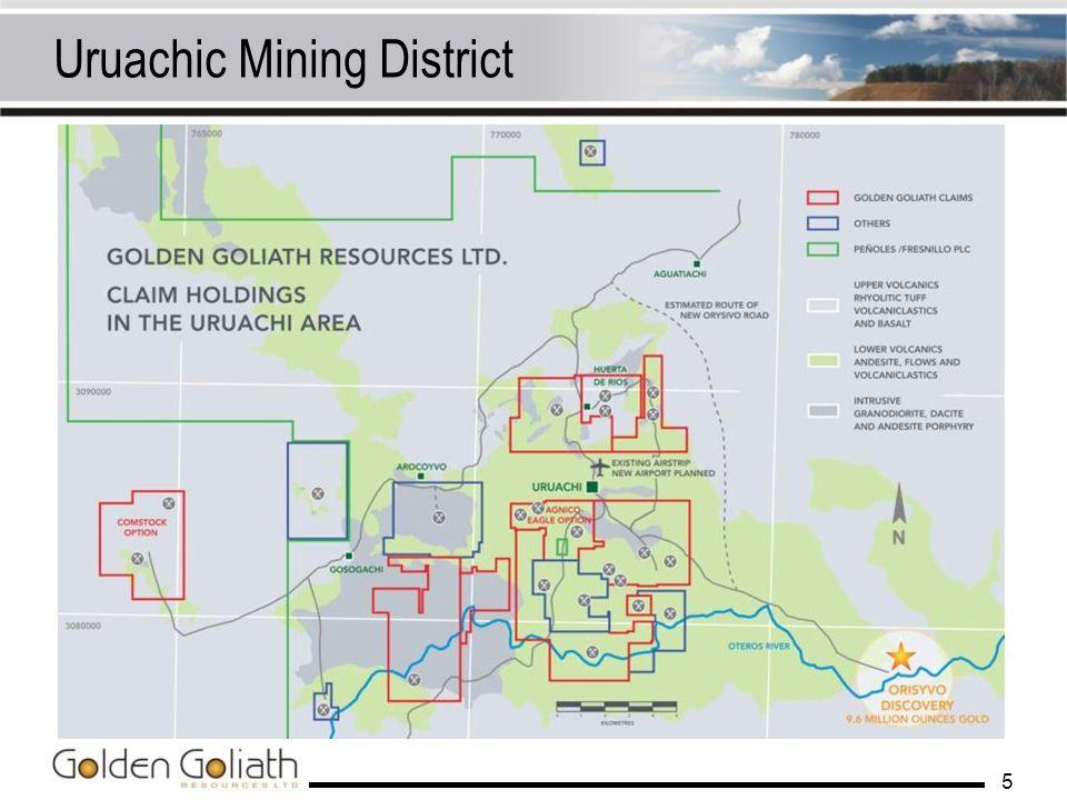 Uruachic Mining District
