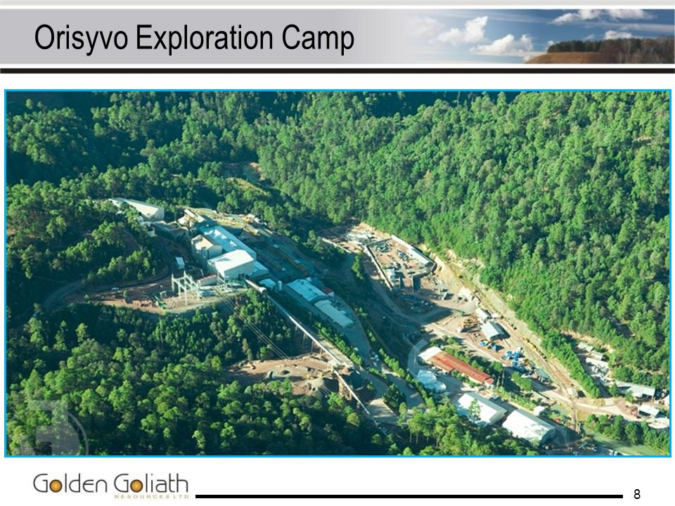 Orisyvo Exploration Camp