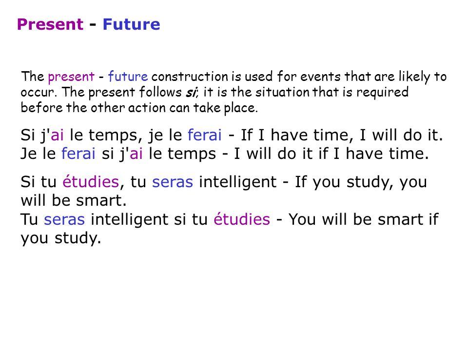 Present - Future