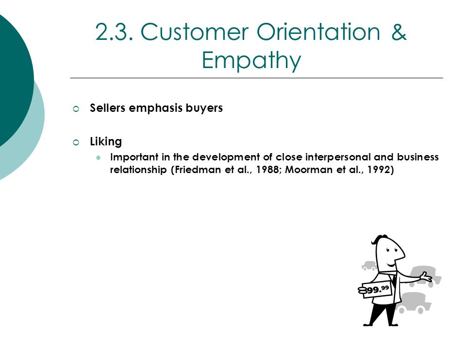 2.3. Customer Orientation & Empathy