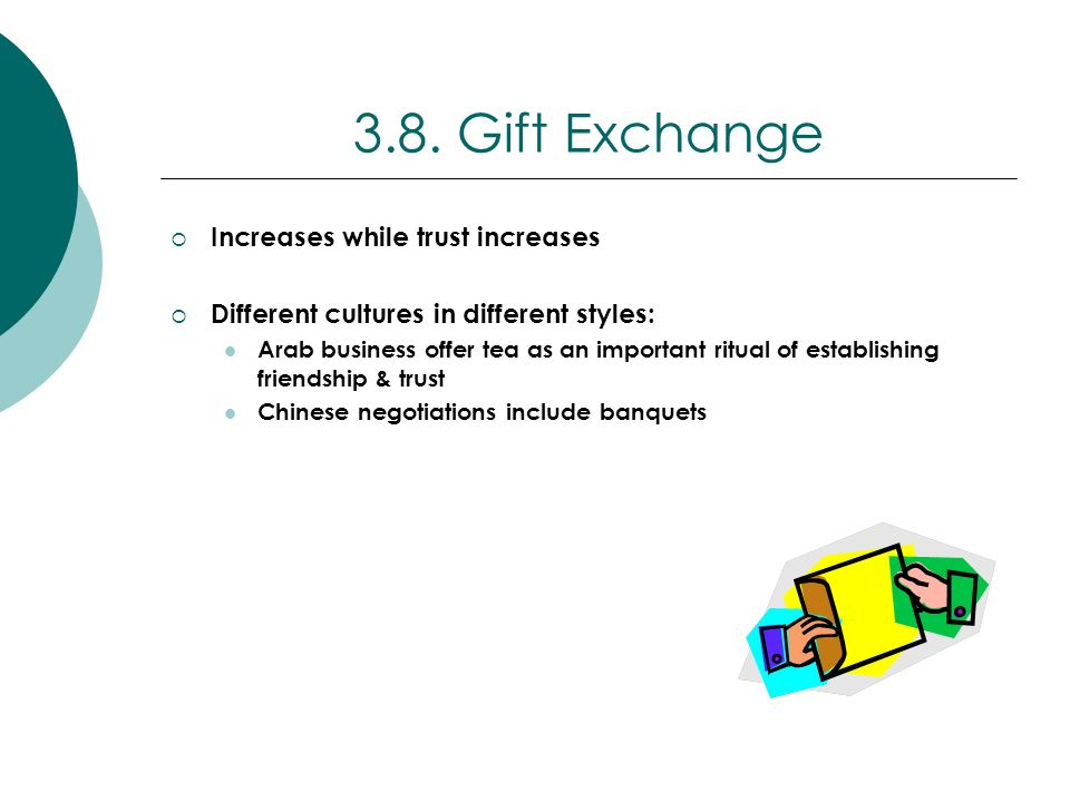 3.8. Gift Exchange Increases while trust increases