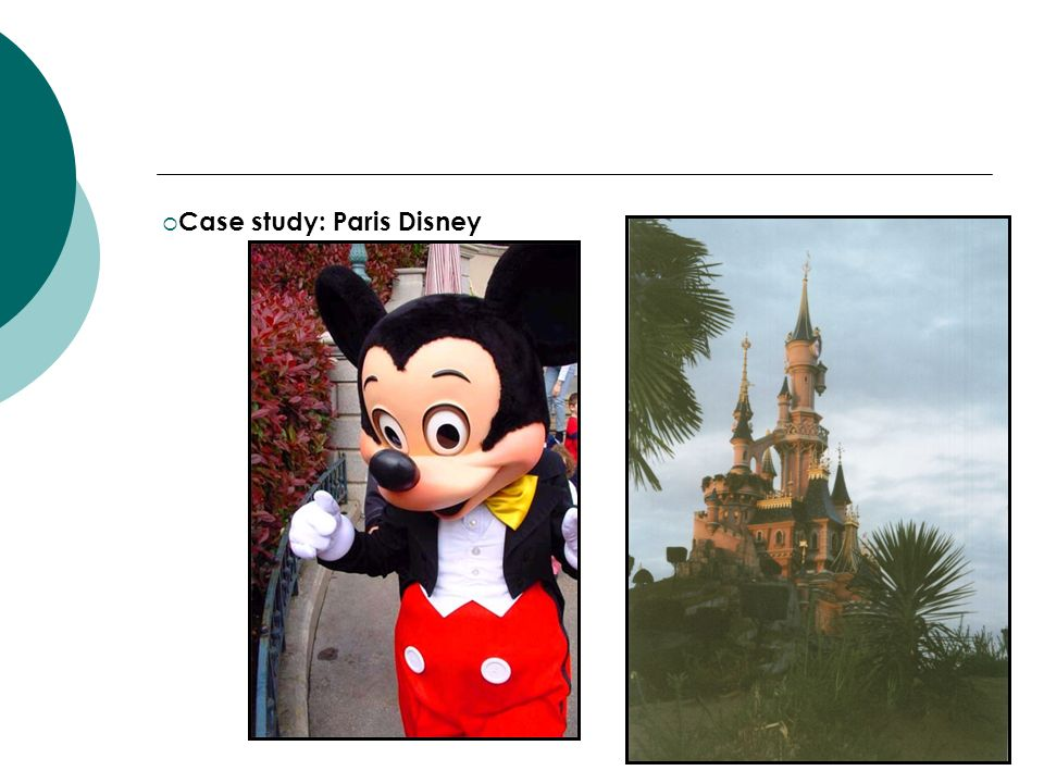 Case study: Paris Disney