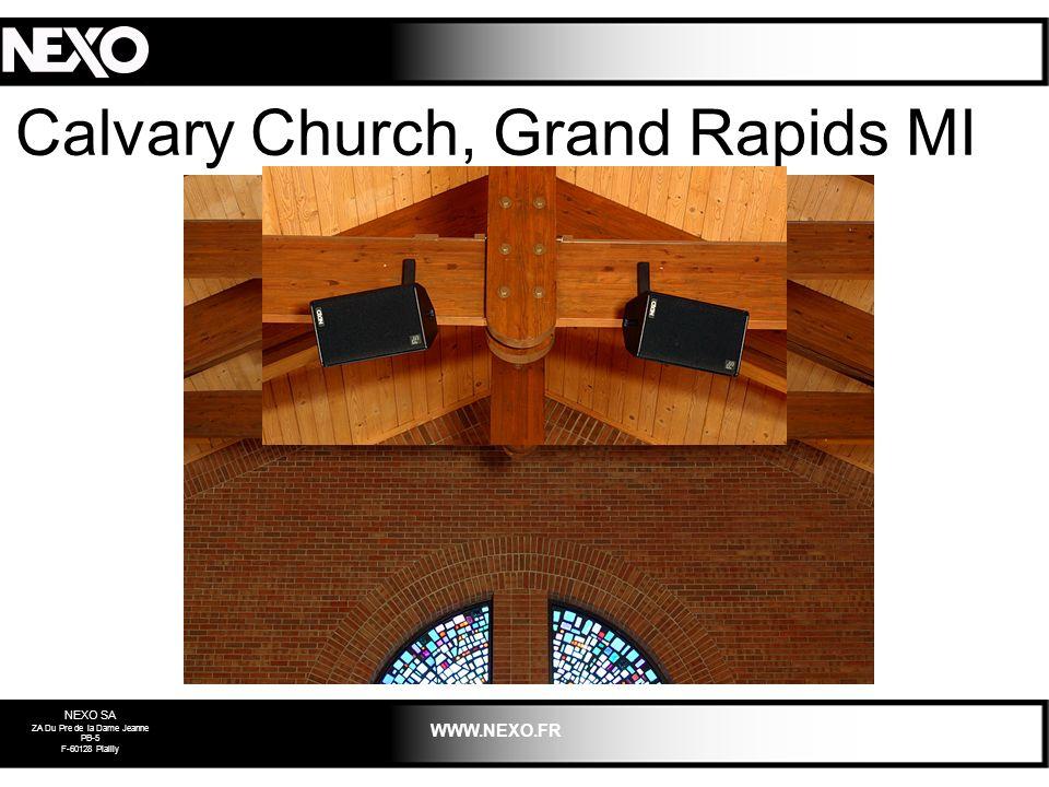 Calvary Church, Grand Rapids MI 2003
