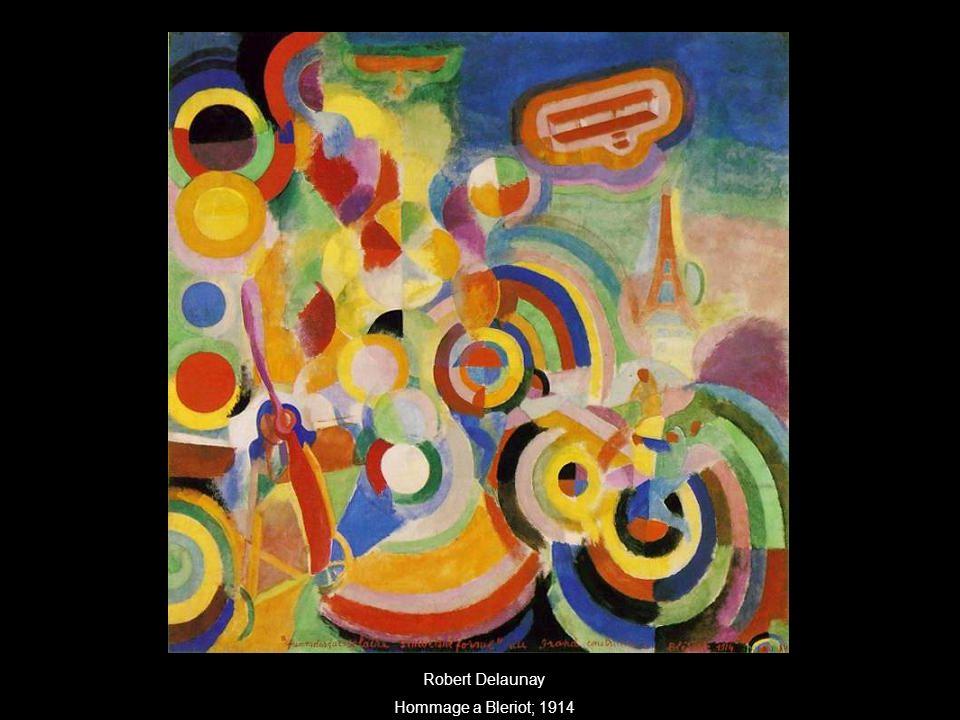 Robert Delaunay Hommage a Bleriot; 1914