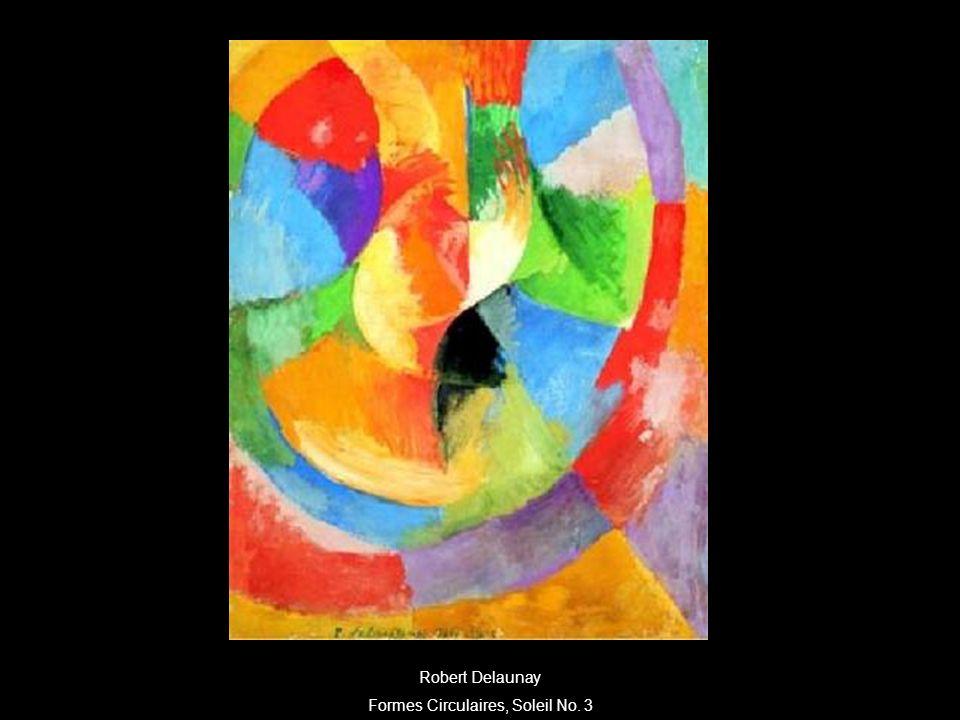Formes Circulaires, Soleil No. 3