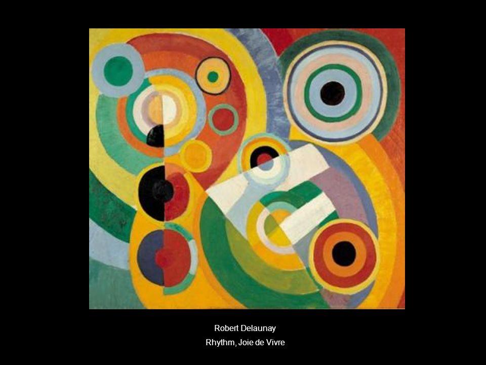 Robert Delaunay Rhythm, Joie de Vivre