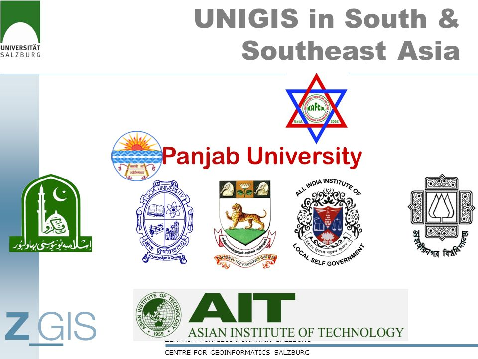 UNIGIS in South & Southeast Asia