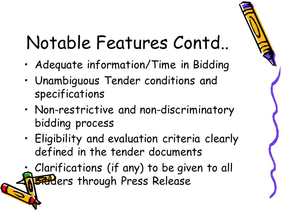 Notable Features Contd..