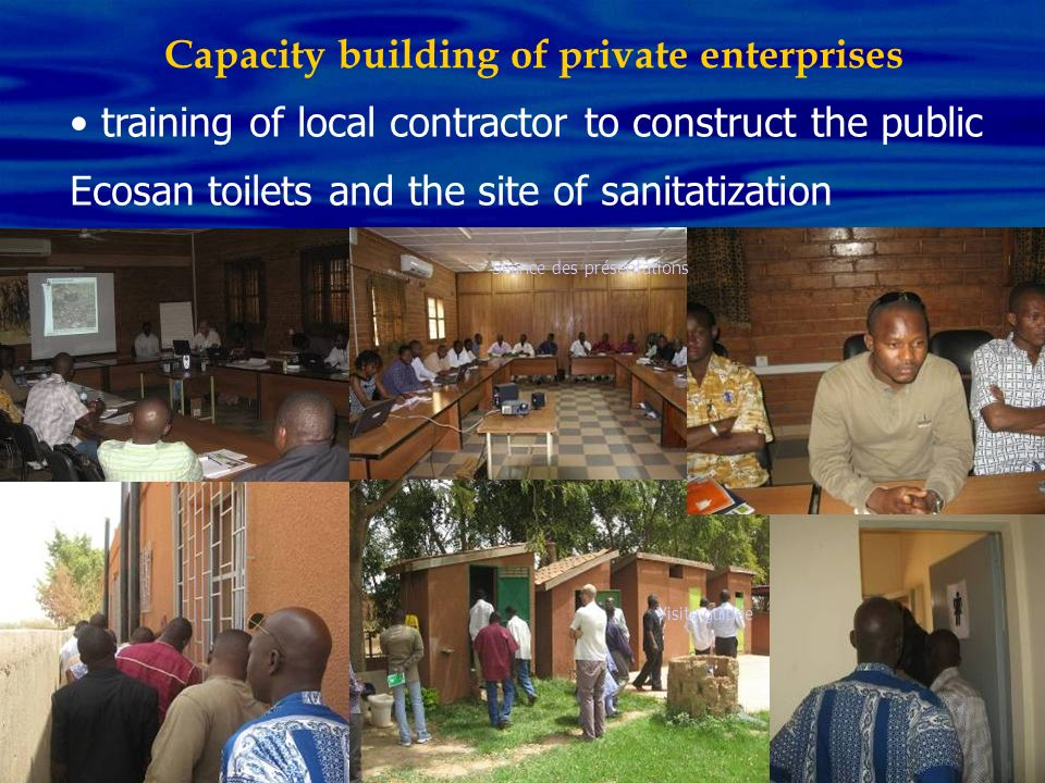 Capacity building of private enterprises