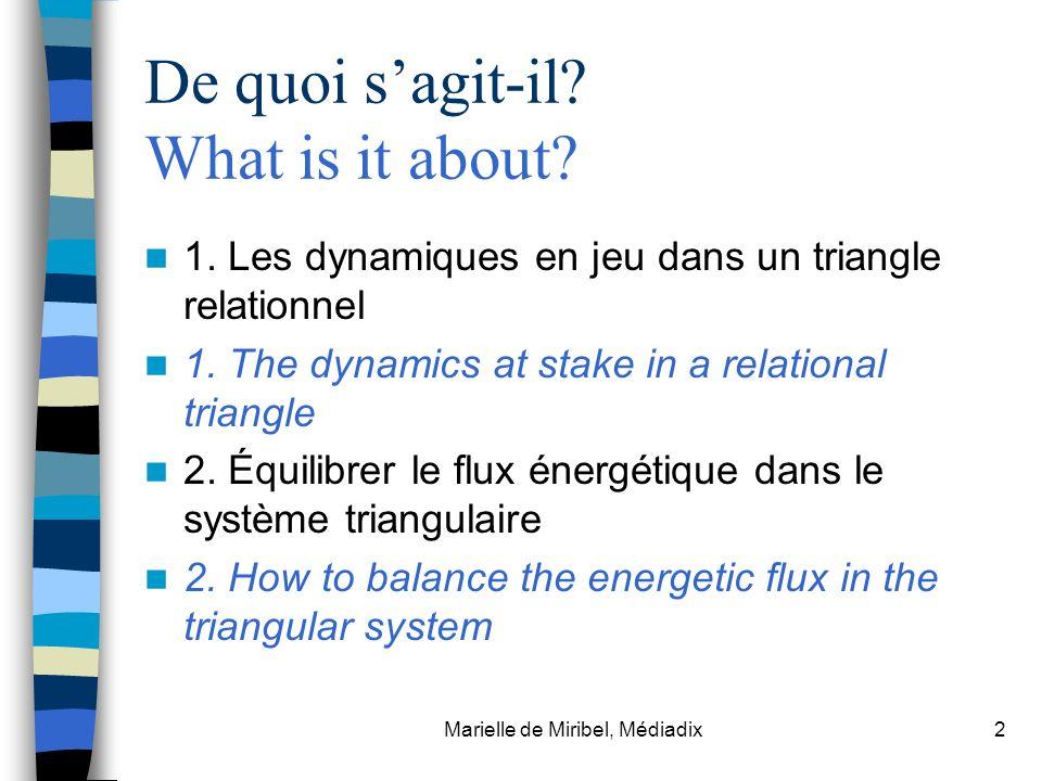 De quoi s'agit-il What is it about