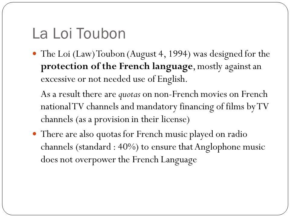 La Loi Toubon