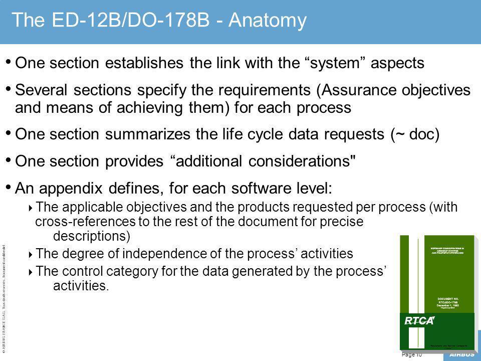 The ED-12B/DO-178B - Anatomy