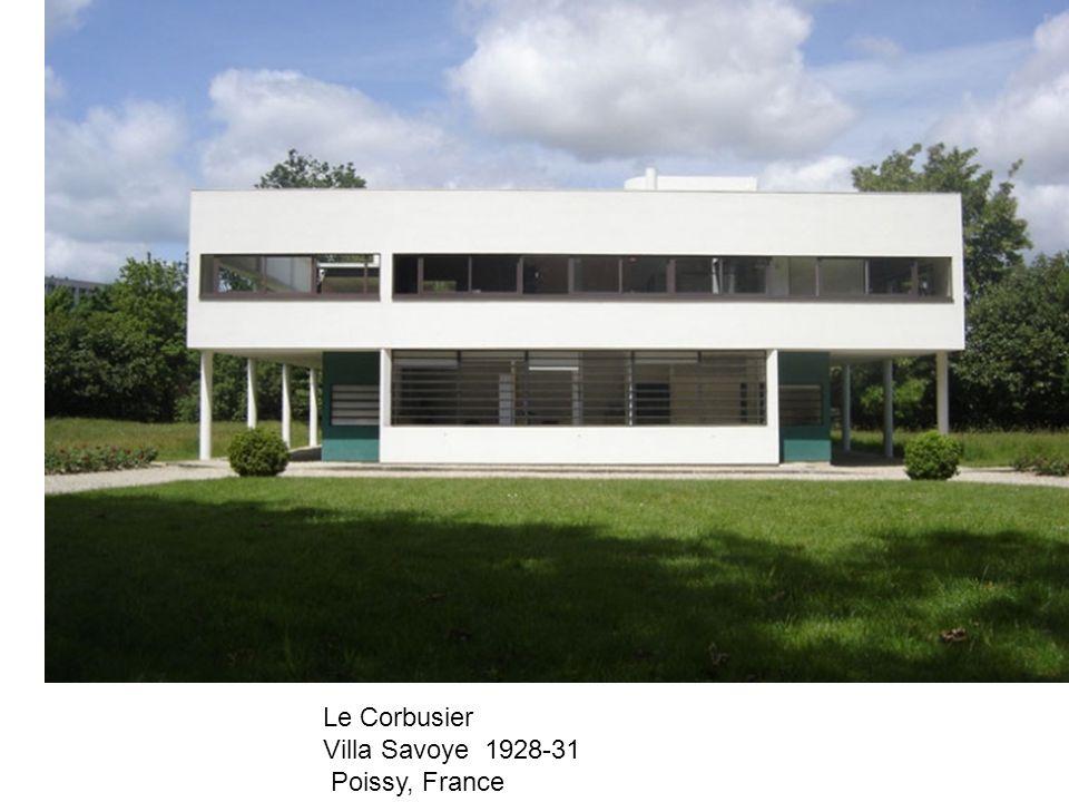 Le Corbusier Villa Savoye 1928-31 Poissy, France