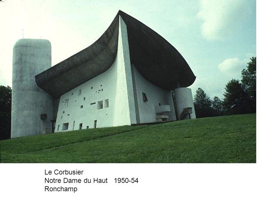 Le Corbusier Notre Dame du Haut 1950-54 Ronchamp