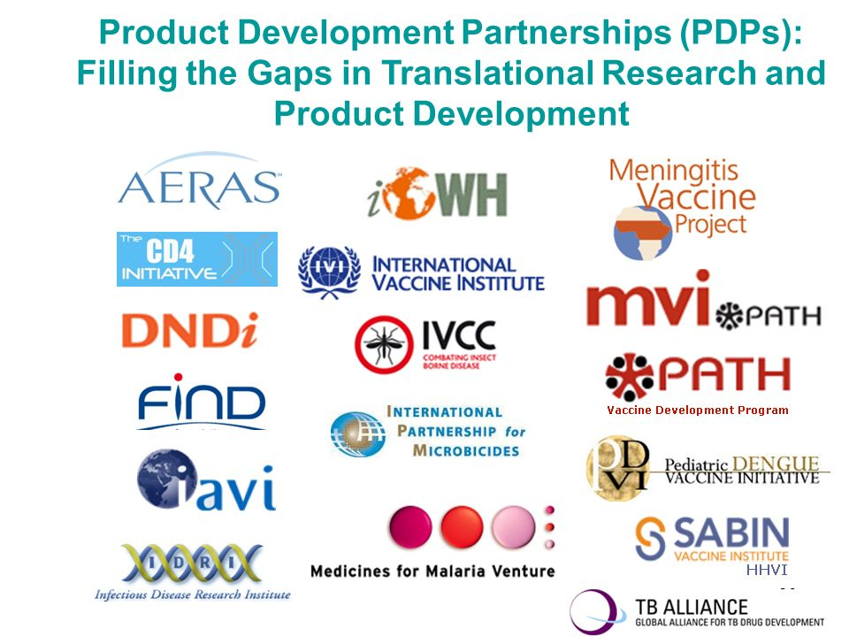 Product Development Partnerships (PDPs): Filling the Gaps in Translational Research and Product Development
