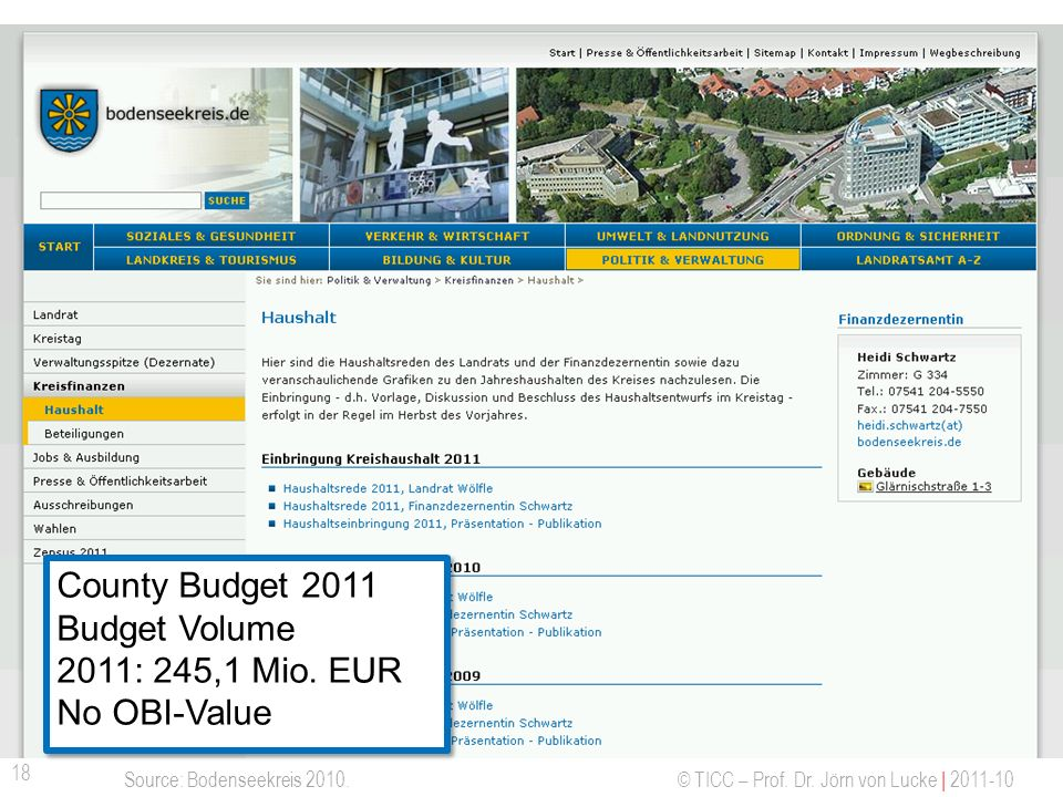 Offene Haushaltsdaten - Bodenseekreis