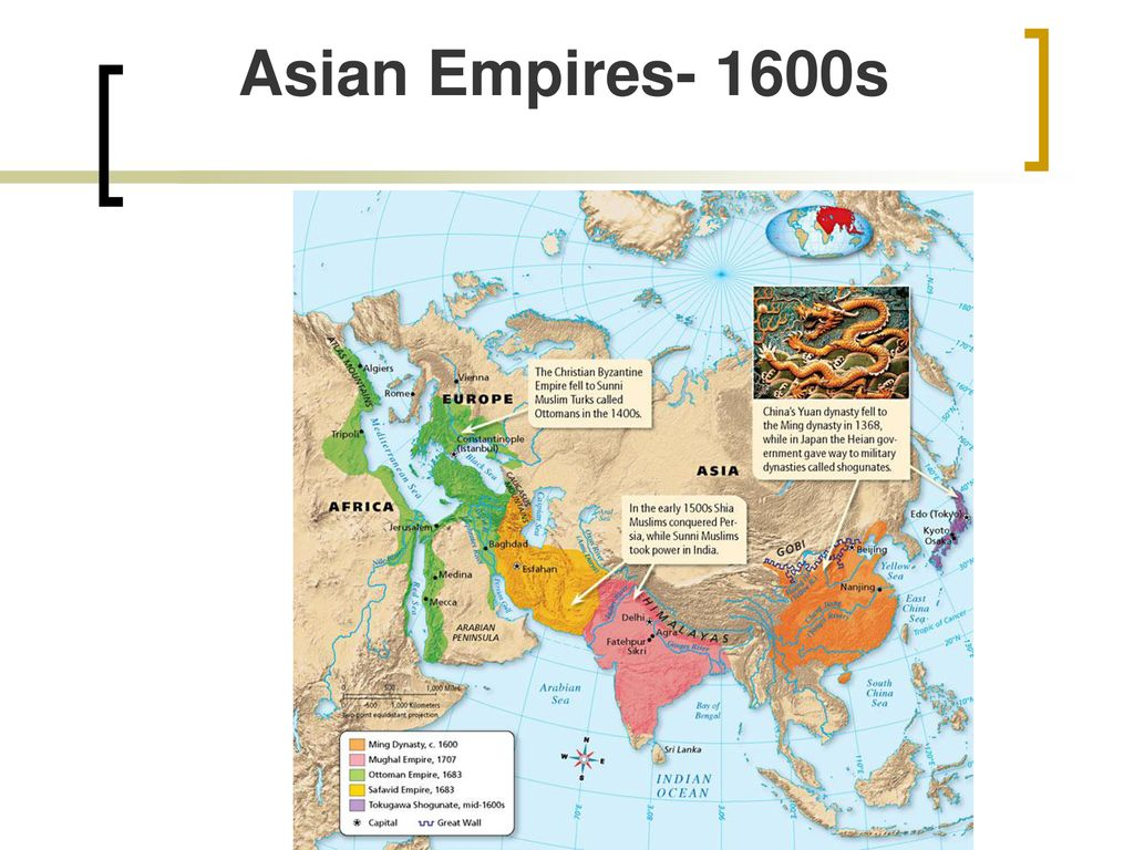Picture of: New Asian Empires Ppt Download
