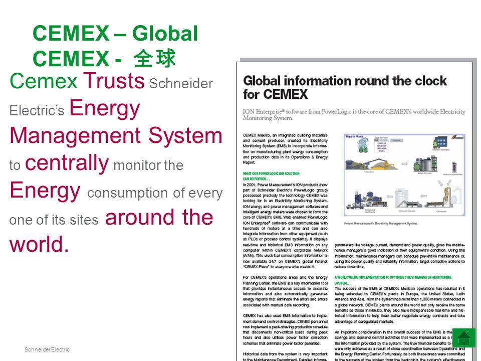 CEMEX – Global CEMEX - 全球
