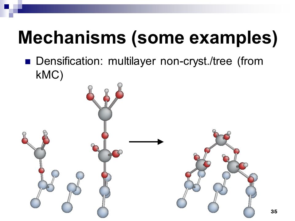 Mechanisms (some examples)