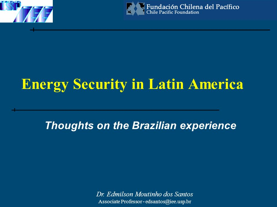 Energy Security in Latin America