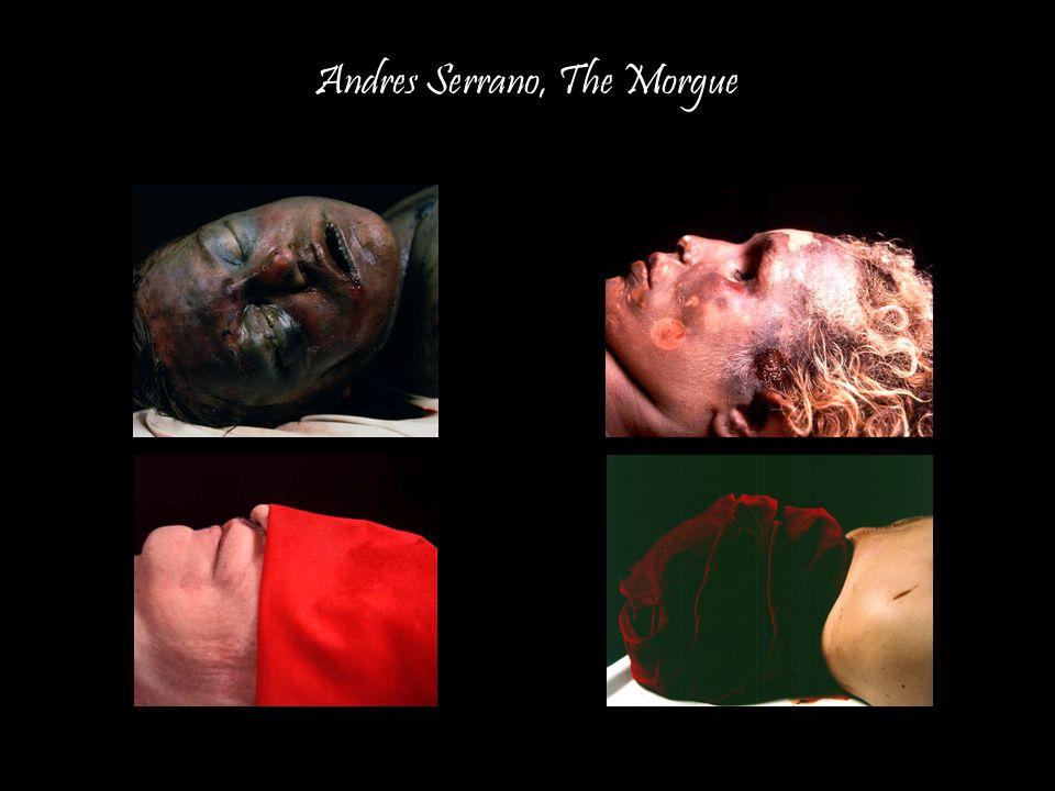 Andres Serrano, The Morgue