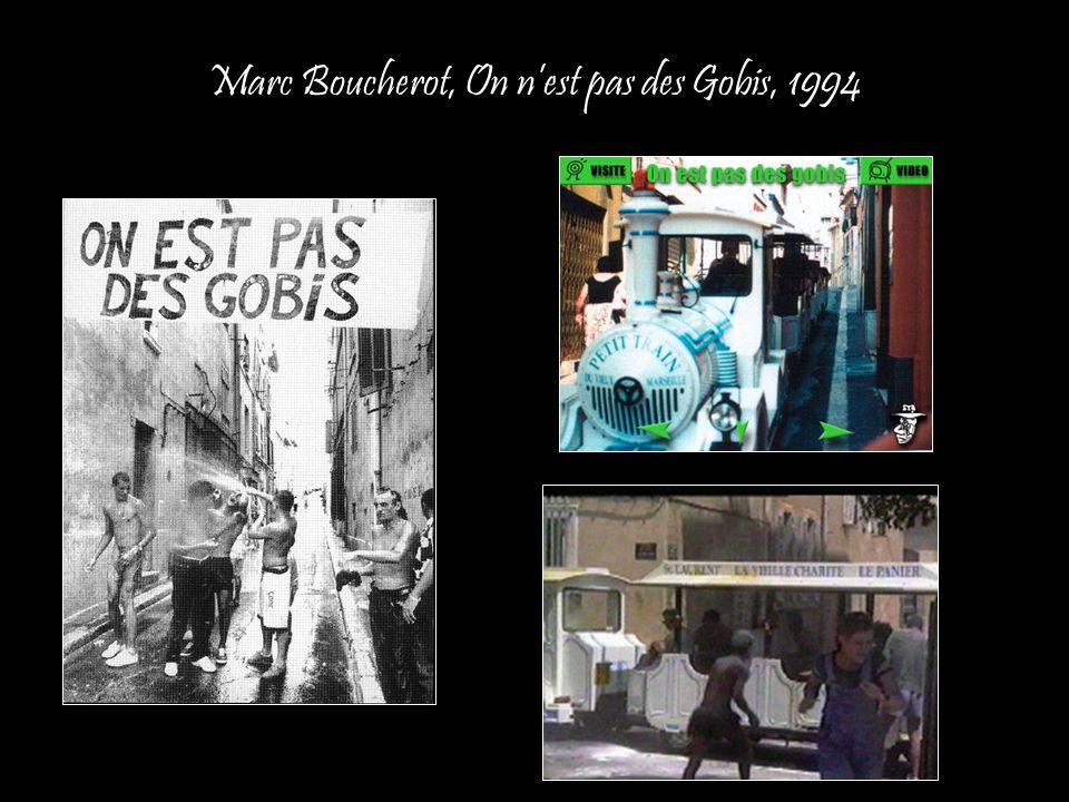 Marc Boucherot, On n'est pas des Gobis, 1994