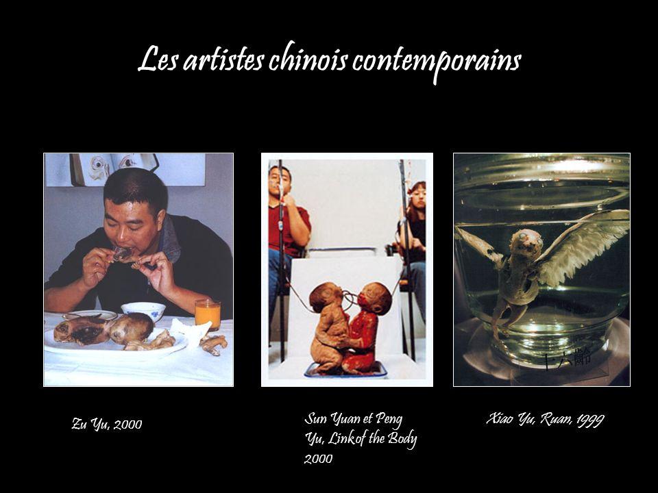 Les artistes chinois contemporains