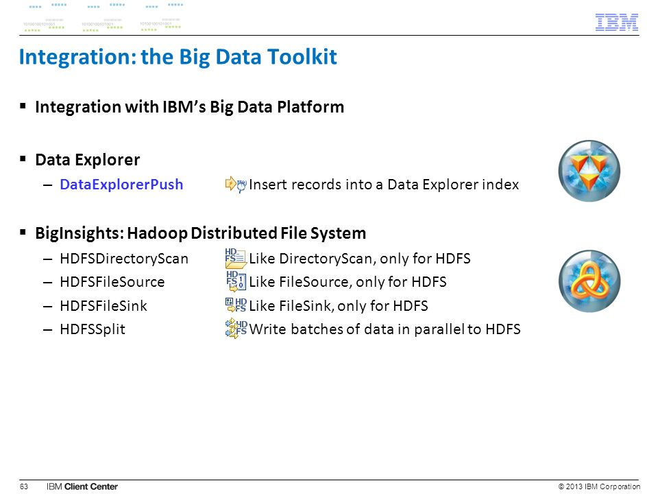 Integration: the Big Data Toolkit