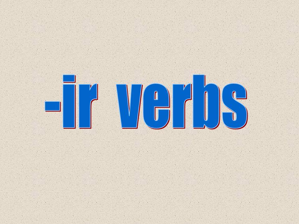 -ir verbs