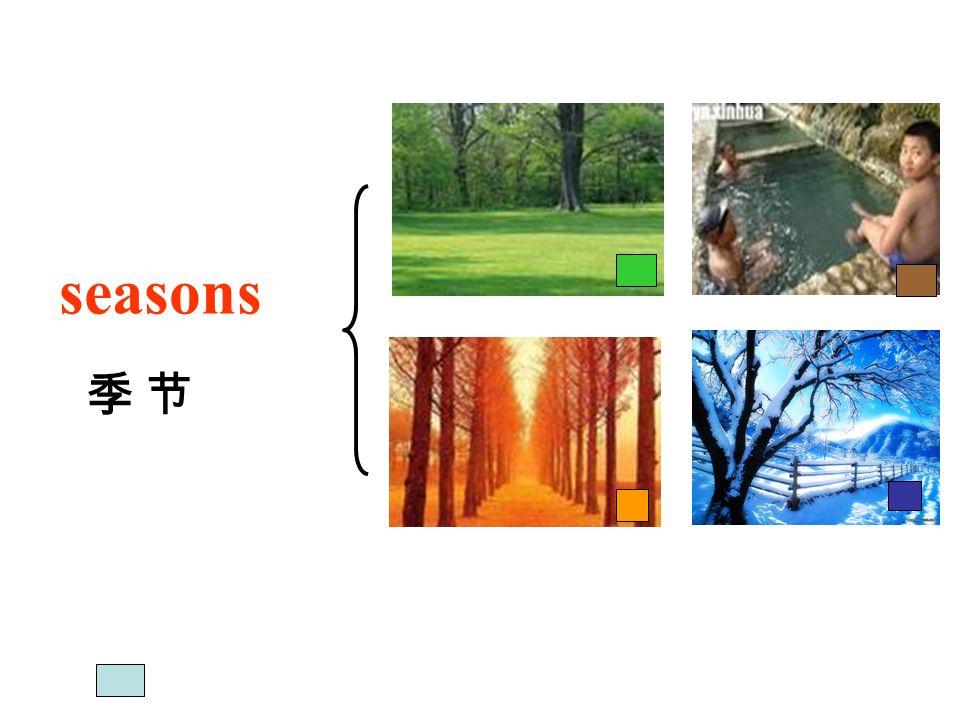 seasons 季 节