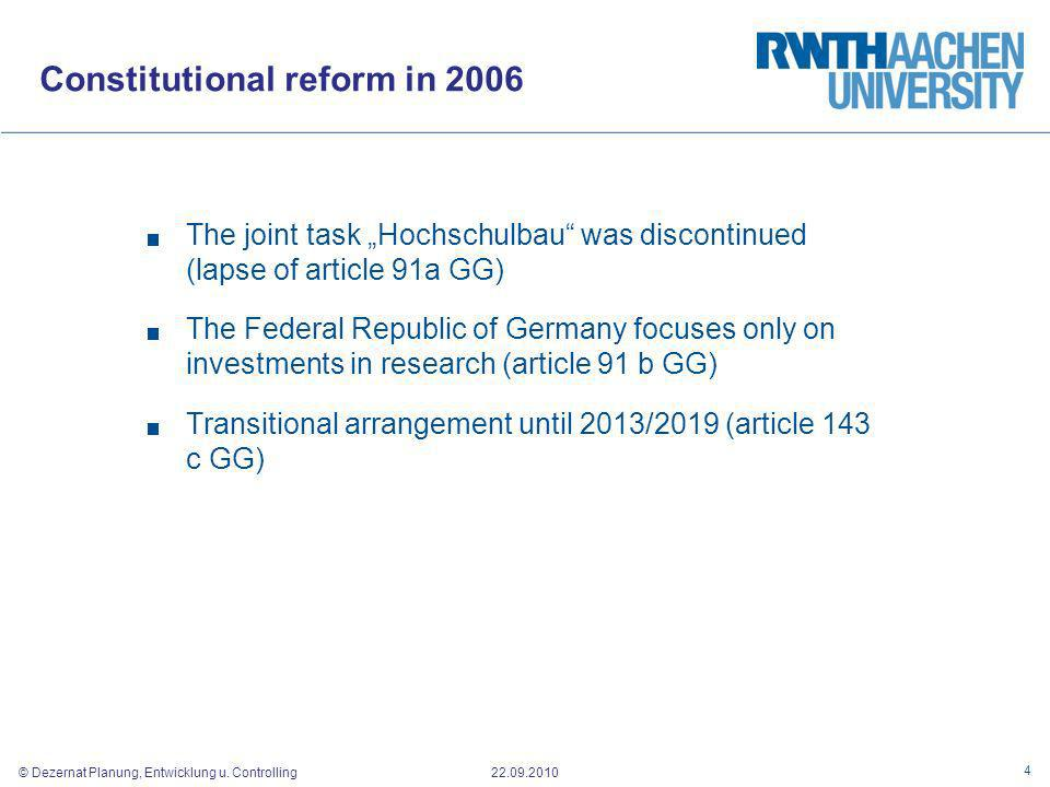 Constitutional reform in 2006