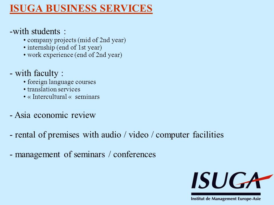 ISUGA BUSINESS SERVICES