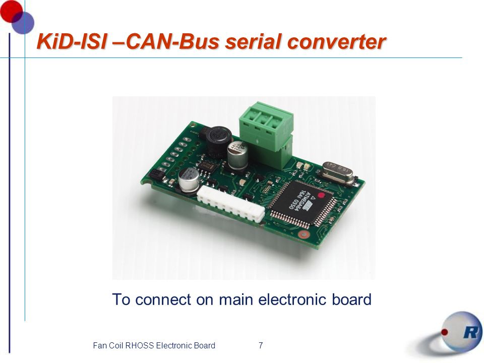 KiD-ISI –CAN-Bus serial converter