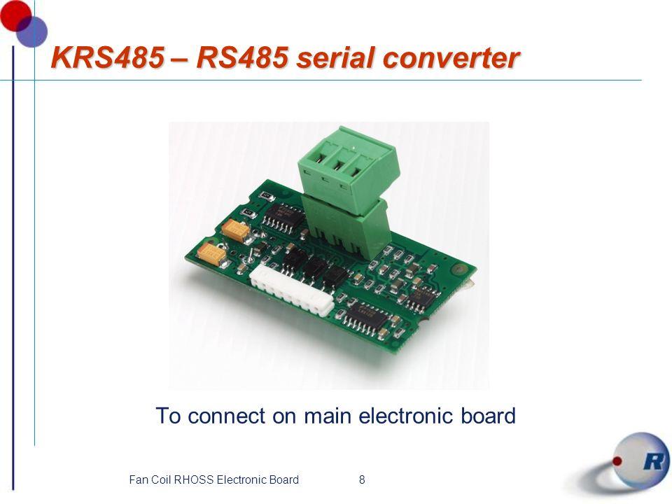 KRS485 – RS485 serial converter