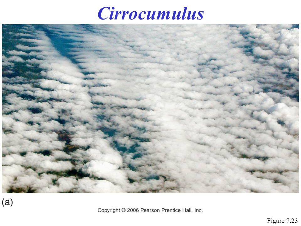 Cirrocumulus Figure 7.23