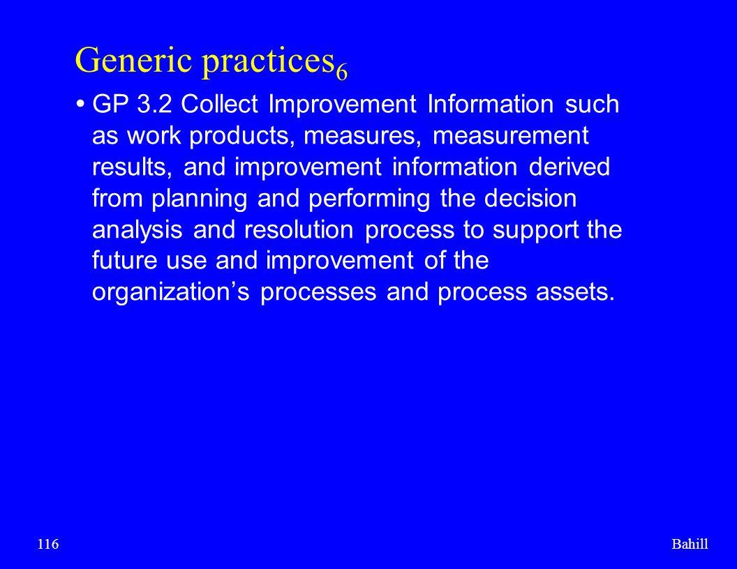Generic practices6