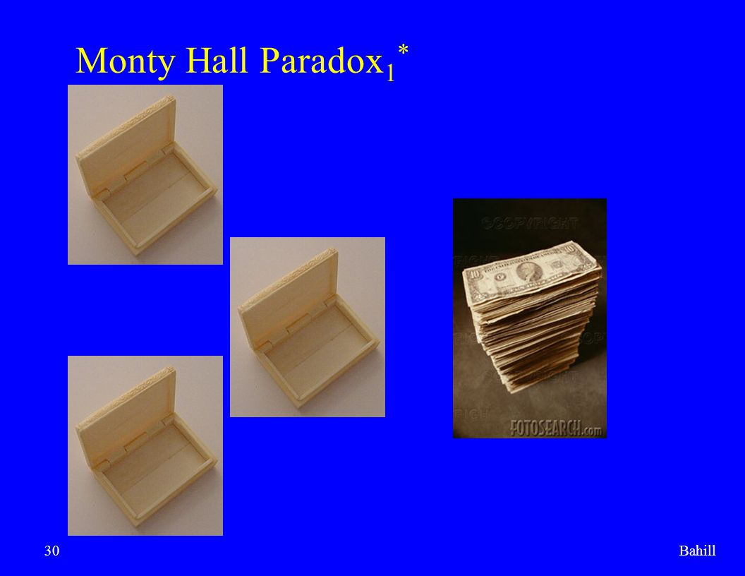 Monty Hall Paradox1* Bahill