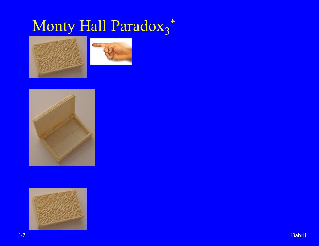 Monty Hall Paradox3* Bahill