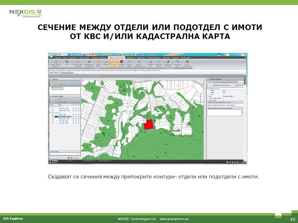 NEXGIS Technologies Ltd. www.gisexplorer.eu