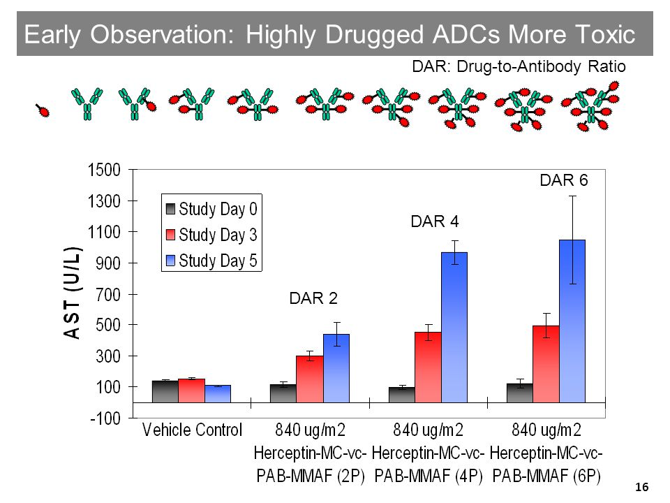 Early Observation: Highly Drugged ADCs More Toxic